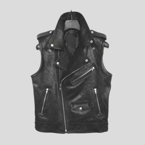 Attractive Leather Vest for Men