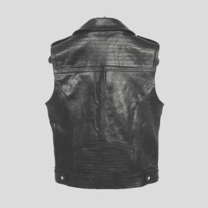 Attractive Leather Vest for Mens