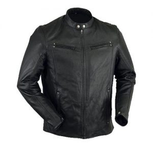 Lambskin Leather Lightweight Riding Jacket