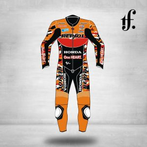 Honda Repsol Motorbike Leather Suit
