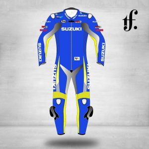 Suzuki Motorbike leather racing suit - Biker suit