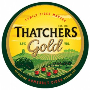 Thatchers Gold logo