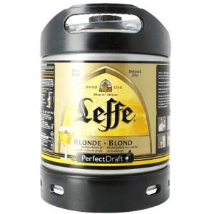 Leffe Blonde Perfect Draft keg
