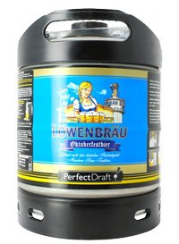 Perfect Draft Lowenbrau Oktoberfest keg