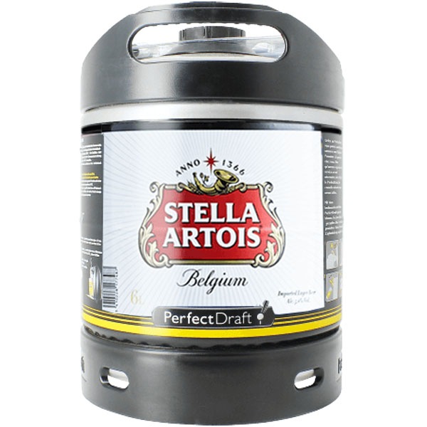 Stella Artois Perfect Draft keg