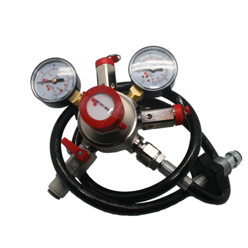 micromatic mixed gas regulator