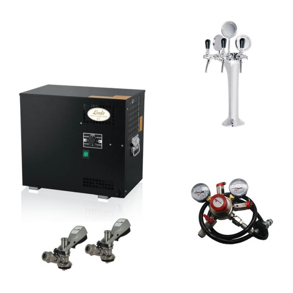Lindr under counter bar kit