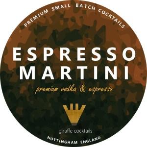 espresso martini draught keg