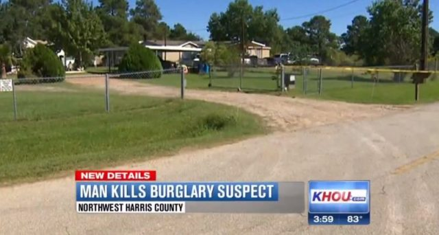 Son Shoots & Kills Alleged Intruder In Harris County, Texas Home