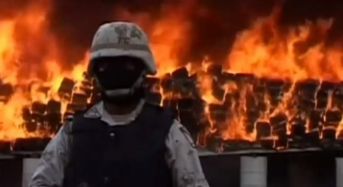 Officials Burn 3 Tons Of Cannabis, Didn't Think It All The Way Through