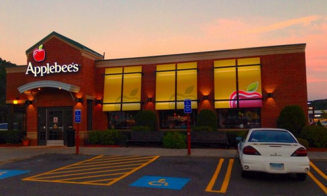 Young Girls Steal Parking Spot At Applebee's
