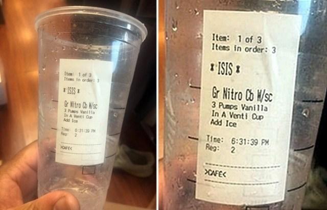 Niquel Johnson Muslim Customer Sees Islamophobic Insult On Starbucks Cup Demands Compensation