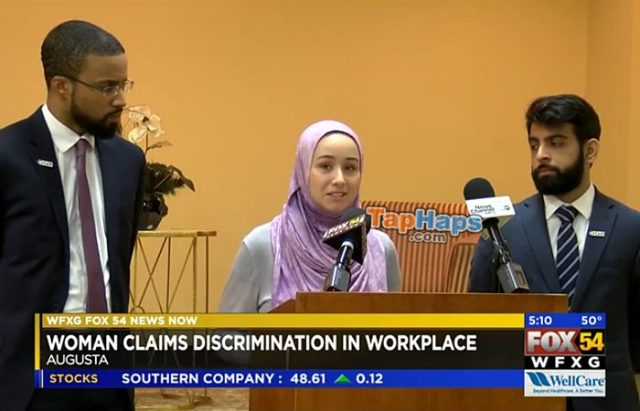 Lacey Enevoldsen Employee Converts To Islam Wears Hijab Files Discrimination Complaint