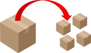 Order split