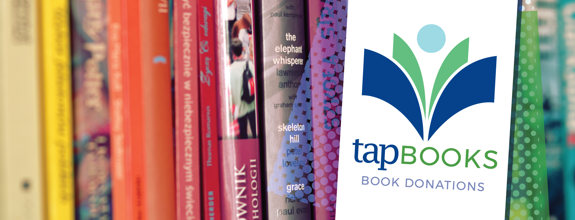 TAP Book donation program