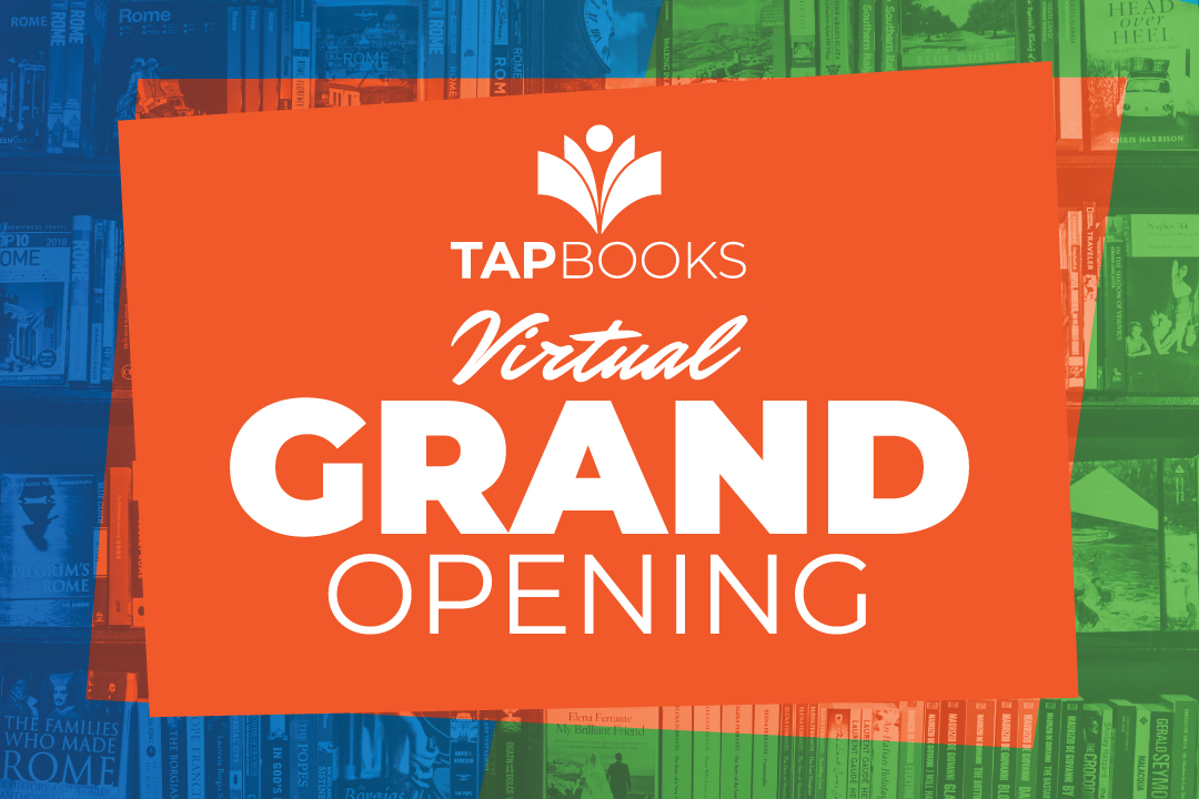 TAP Books Virtual Grand Opening