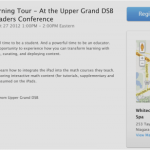 Apple Learning Tour | Upper Grand District School Board UGDSB | Secondary Mathematics iPad Session