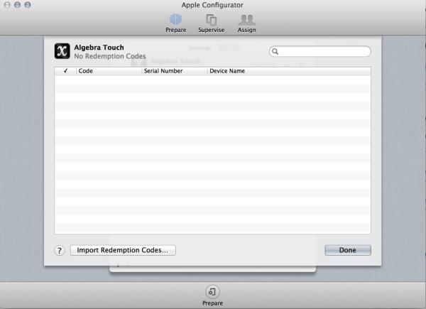 Setup iPad with Apple Configurator