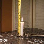 Candle's Burning for 156mins,9.5cm