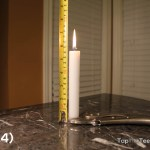 Candle's Burning for 24min, 15cm