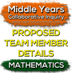 MYCI Proposed Team Member Details