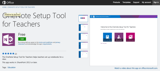 OneNote Setup Tool for Teachers - Microsoft LMS Attempt
