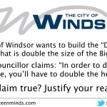 Big Nickel - City of Windsor wants to Build Double Big Nickel