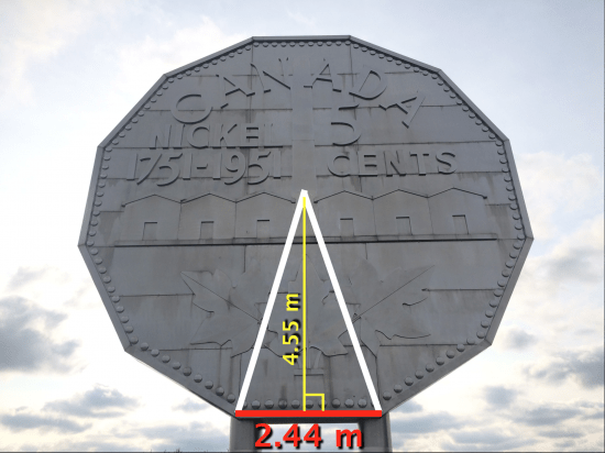 Big Nickel - Act 2 - Height and Base of Triangle