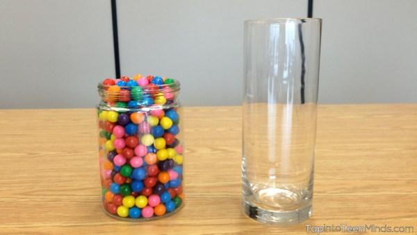 Guessing Gumballs Sequel - Short Wide vs Tall Skinny Jar