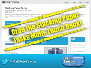 Grab the Stacking Paper Tasks Multi-Touch Book from the iBooks Store