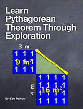 Learn Pythagorean Theorem Through Exploration Multitouch Book for iBooks