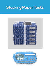 Stacking Paper Tasks Multitouch Book for iBooks