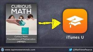 Curious Math Foundations of Math Live on iTunes U