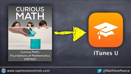 Curious Math Foundations of Math Live on iTunes U