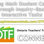 Making Math Student Centred Through Inquiry-Based Interactive Tasks
