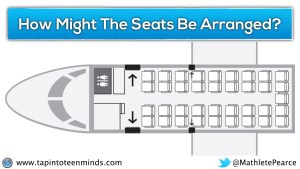 Airplane Task - Second Air Canada Plane Alternative Question - How might the seats be arranged Act 3 part 2