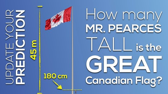 Canada 150 Math Challenge - Update Your Prediction With Measurements