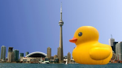 Giant Rubber Duck vs. CN Tower 3 Act Math 002 Featured Image