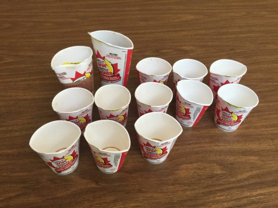 Roll Up The Rim Canada 150 3 Act Math Task - Sequel Act 1