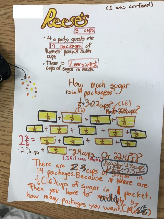 Additive and Multiplicative Thinking Using Visual and Symbolic With Decimal Conversion copy