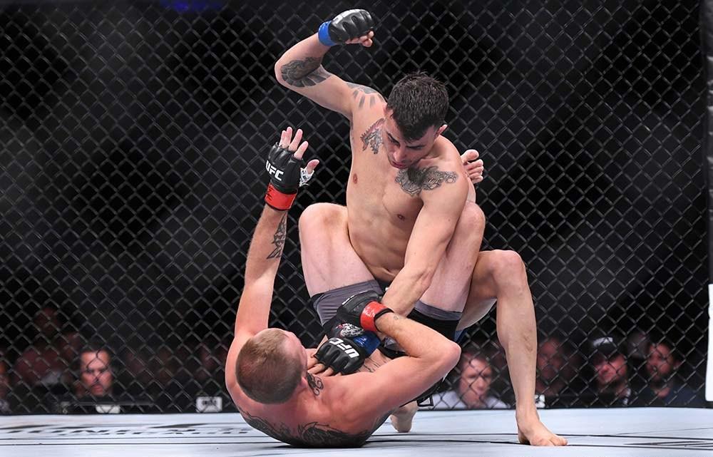 MMA: UFC Fight Night-Liverpool: Knight vs Amirkhani