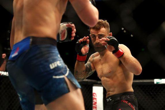 Volkanovski Elkins UFC 2018