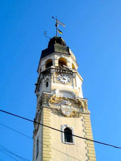 Sniatyn clock tower