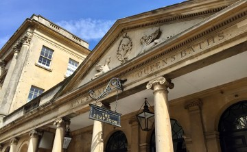 The famous Pump Room. We didn't go due to the entrance fee, but I would love to go back and have afternoon tea there.