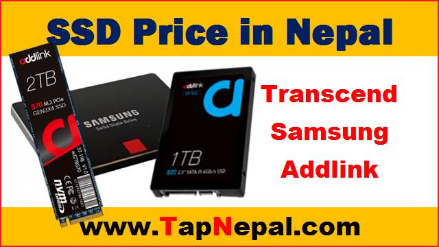 SSD Price in Nepal Transcend, Samsung, Addlink SSD