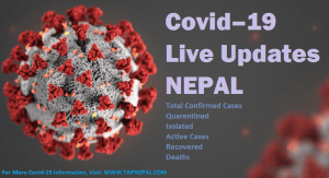 COVID-19 Live Updates Nepal Corona Virus New Cases and News
