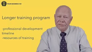 Training Staff video Business 101 Training by Tapp Advisory