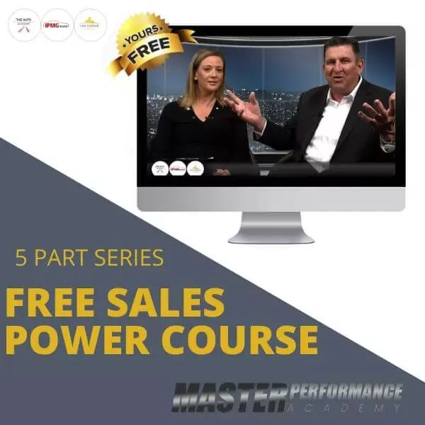 FREE Sales Power Course IPI
