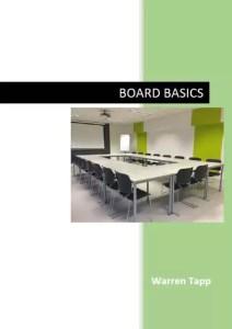 Board Basics eBook by Warren Tapp cover