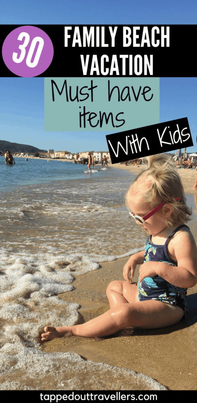 Never forget what to bring along again! This is the ultimate beach vacation packing checklist for families! Summer Packing List - Beach packing list - #Beach destinations - #Summer Getaways - Packing tips - Summer Packing tips - #Island packing #packinglist #island #packingtips #summerpacking #summerpackinglist #traveltips #beachvacation #beachpackinglist #packinglistforbaby